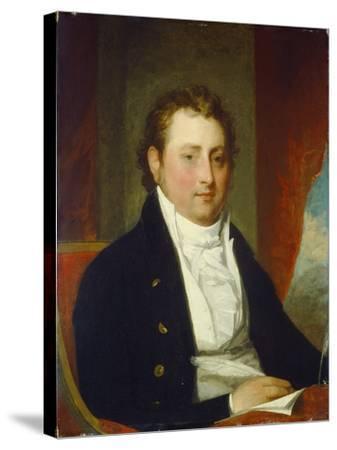 Edward Stow, c.1803-Gilbert Stuart-Stretched Canvas Print