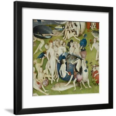The Garden of Earthly Delights, 1490-1500-Hieronymus Bosch-Framed Giclee Print