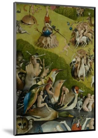 The Garden of Earthly Delights, 1490-1500-Hieronymus Bosch-Mounted Giclee Print