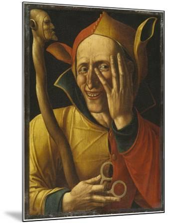 Laughing Jester-Netherlandish School-Mounted Giclee Print