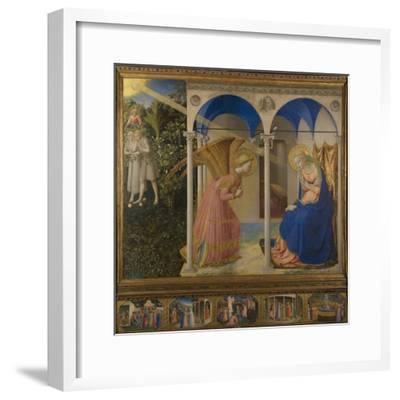 The Annunciation, 1425-8-Fra Angelico-Framed Giclee Print