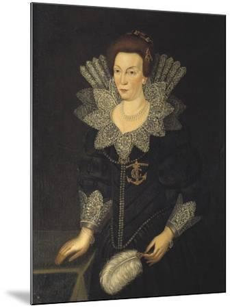 Kristina of Holstein-Gottorp, c.1610-Unknown Artist-Mounted Giclee Print
