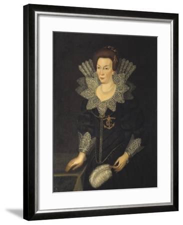 Kristina of Holstein-Gottorp, c.1610-Unknown Artist-Framed Giclee Print