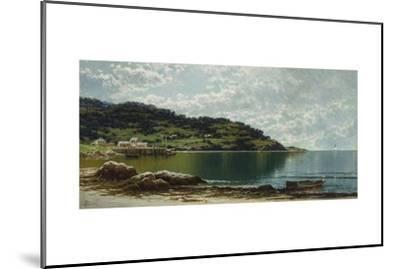 Along the Maine Coast, c.1885-Alfred Thompson Bricher-Mounted Giclee Print