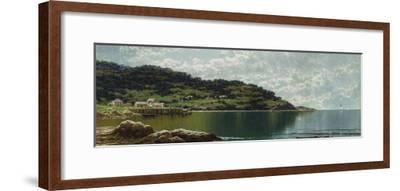 Along the Maine Coast, c.1885-Alfred Thompson Bricher-Framed Giclee Print