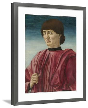 Portrait of a Man, c.1450-Andrea Del Castagno-Framed Giclee Print