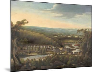 The Eli Whitney Gun Factory, c.1826-8-William Giles Munson-Mounted Giclee Print