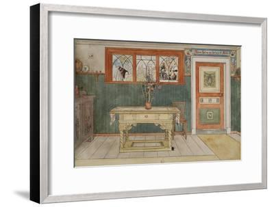 The Dining Room, from 'A Home' series, c.1895-Carl Larsson-Framed Giclee Print