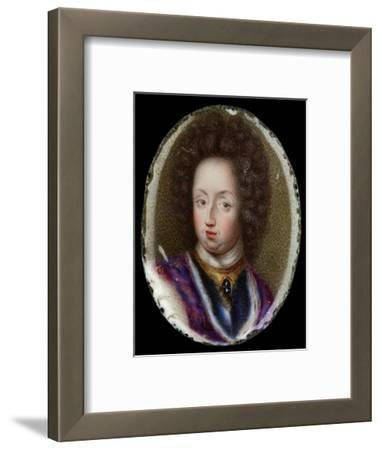 Miniature of Charles XI, King of Sweden, 1690-Erik Utterhielm-Framed Giclee Print