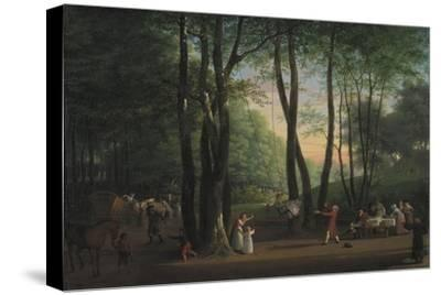 The Dancing Glade at Sorgenfri, North of Copenhagen, 1800-Jens Juel-Stretched Canvas Print