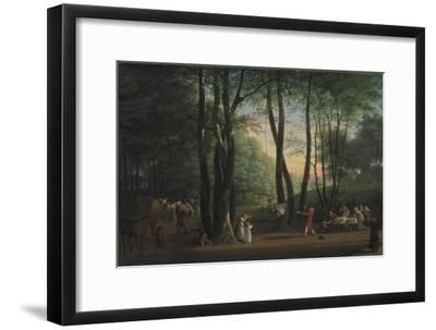 The Dancing Glade at Sorgenfri, North of Copenhagen, 1800-Jens Juel-Framed Giclee Print