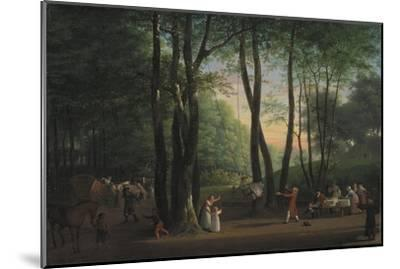 The Dancing Glade at Sorgenfri, North of Copenhagen, 1800-Jens Juel-Mounted Giclee Print