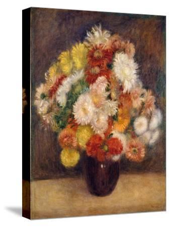 Bouquet of Chrysanthemums, 1881-Pierre-Auguste Renoir-Stretched Canvas Print