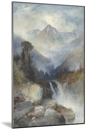 Mountain of the Holy Cross, 1890-Thomas Moran-Mounted Giclee Print