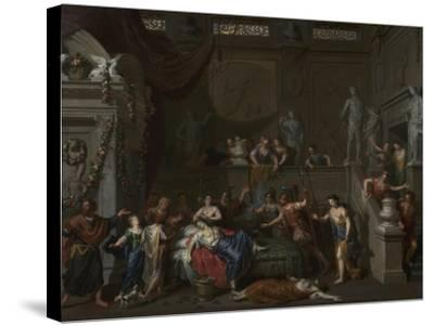 The Death of Cleopatra, c.1700-10-Gerard Hoet-Stretched Canvas Print