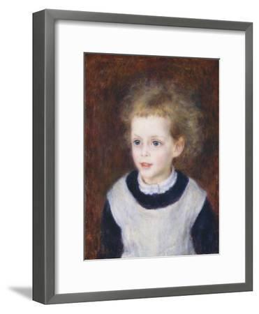 Marguerite-Thérèse (Margot) Berard, 1879-Pierre-Auguste Renoir-Framed Giclee Print