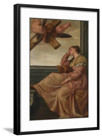 The Dream of Saint Helena, c.1570-Veronese-Framed Giclee Print