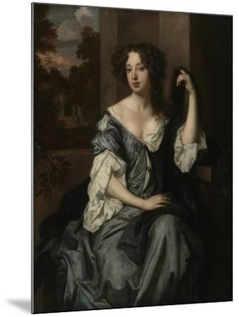 Portrait of Louise de Keroualle, Duchess of Portsmouth, c.1671-4-Peter Lely-Mounted Giclee Print