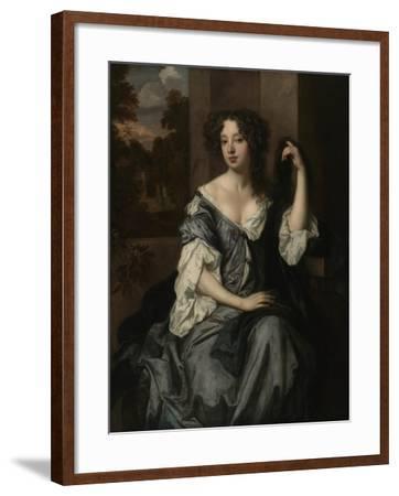 Portrait of Louise de Keroualle, Duchess of Portsmouth, c.1671-4-Peter Lely-Framed Giclee Print