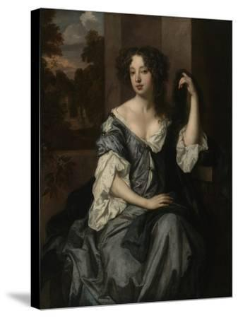 Portrait of Louise de Keroualle, Duchess of Portsmouth, c.1671-4-Peter Lely-Stretched Canvas Print