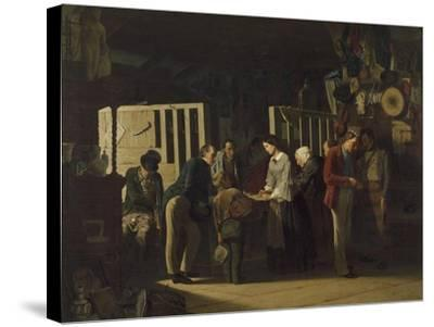 The Pawn Shop II, 1859-Carl-Hendrik d' Unker-Stretched Canvas Print