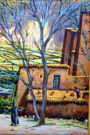 Moroccan Village Kasbah-Tilly Willis-Framed Giclee Print