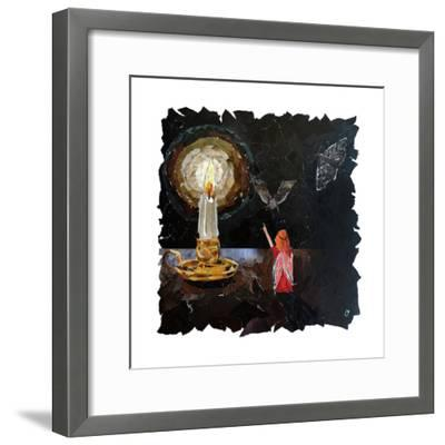 Element Fairy - Fire-Kirstie Adamson-Framed Giclee Print