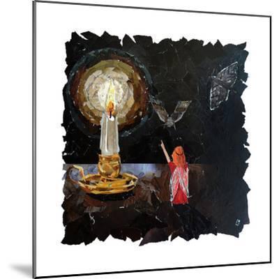 Element Fairy - Fire-Kirstie Adamson-Mounted Giclee Print