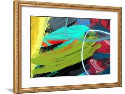 Abstract 55-Sara Hayward-Framed Giclee Print