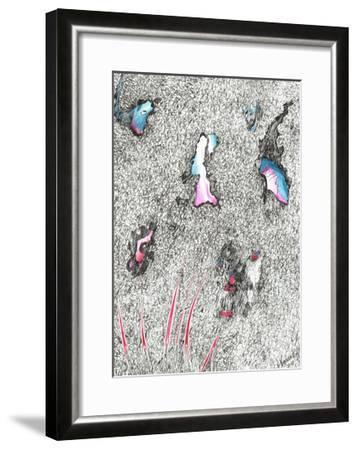 Paleheads, 2017-Vincent Alexander Booth-Framed Giclee Print