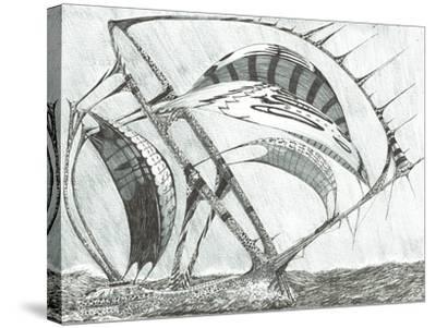 Storm Creators Laptev Sea, 2017-Vincent Alexander Booth-Stretched Canvas Print
