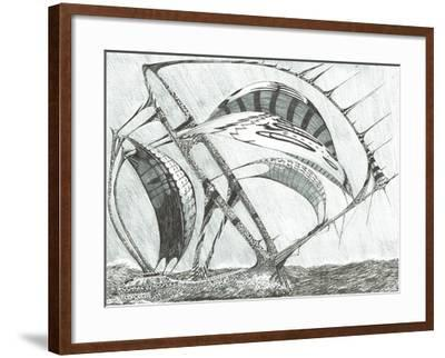 Storm Creators Laptev Sea, 2017-Vincent Alexander Booth-Framed Giclee Print