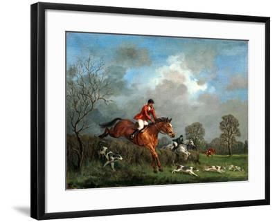 The Hunt-Richard Willis-Framed Giclee Print