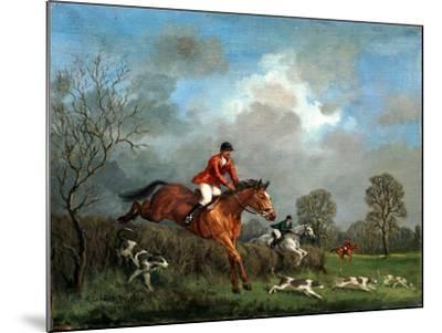 The Hunt-Richard Willis-Mounted Giclee Print
