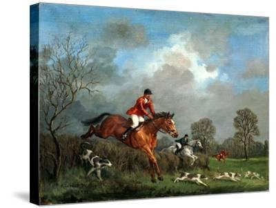 The Hunt-Richard Willis-Stretched Canvas Print