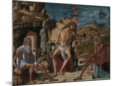 The Meditation on the Passion, c.1490-Vittore Carpaccio-Mounted Giclee Print