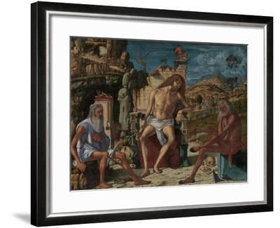 The Meditation on the Passion, c.1490-Vittore Carpaccio-Framed Giclee Print