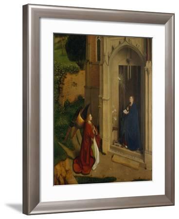 The Annunciation, c.1450-Petrus Christus-Framed Giclee Print