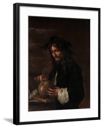 Self-Portrait, c.1647-Salvator Rosa-Framed Giclee Print