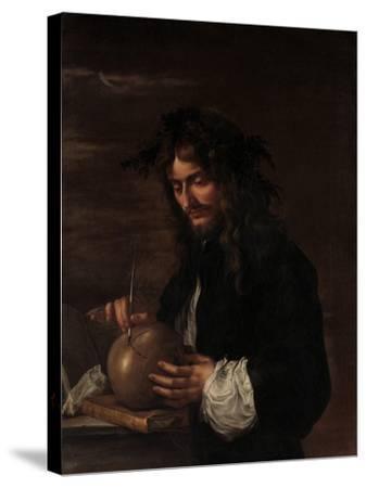 Self-Portrait, c.1647-Salvator Rosa-Stretched Canvas Print