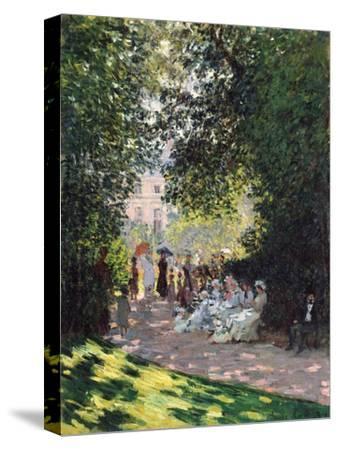 The Parc Monceau, 1878-Claude Monet-Stretched Canvas Print