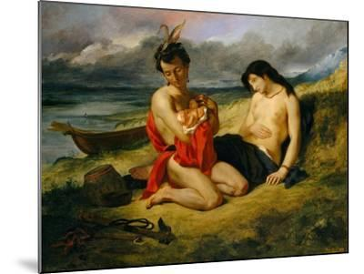 The Natchez, 1823–24 and 1835-Eugene Delacroix-Mounted Giclee Print