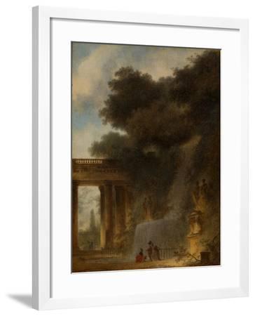The Cascade, c.1775-Jean-Honore Fragonard-Framed Giclee Print