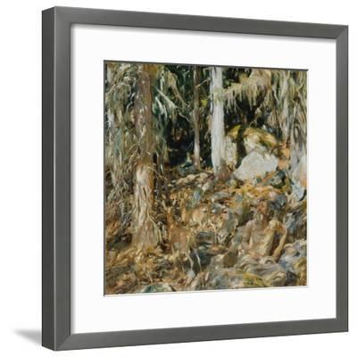 The Hermit (Il solitario), 1908-John Singer Sargent-Framed Giclee Print