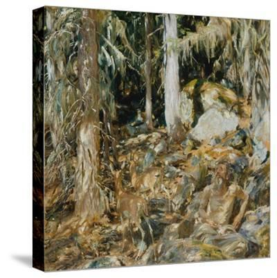 The Hermit (Il solitario), 1908-John Singer Sargent-Stretched Canvas Print