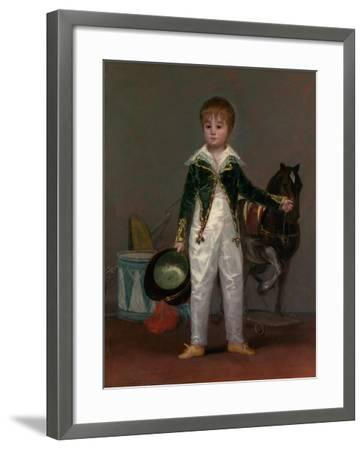 José Costa y Bonells (died 1870), Called Pepito, c.1810-Francisco de Goya-Framed Giclee Print