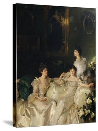 The Wyndham Sisters: Lady Elcho, Mrs. Adeane, and Mrs. Tennant, 1899-John Singer Sargent-Stretched Canvas Print
