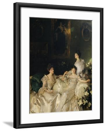 The Wyndham Sisters: Lady Elcho, Mrs. Adeane, and Mrs. Tennant, 1899-John Singer Sargent-Framed Giclee Print