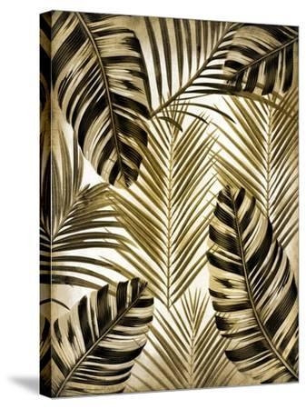 Gold Palm 2-Kimberly Allen-Stretched Canvas Print