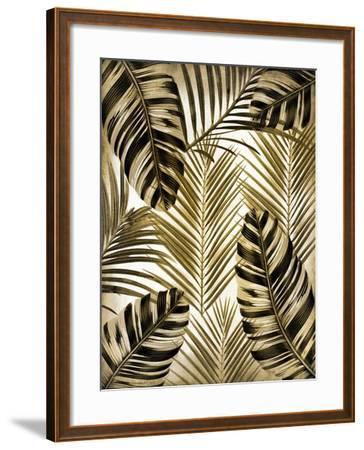 Gold Palm 2-Kimberly Allen-Framed Art Print